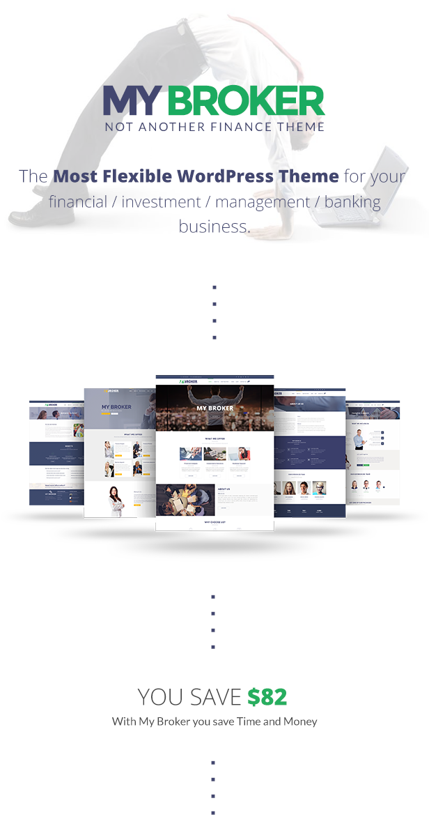 My Broker - Consulting Business and Finance WordPress Theme - 6